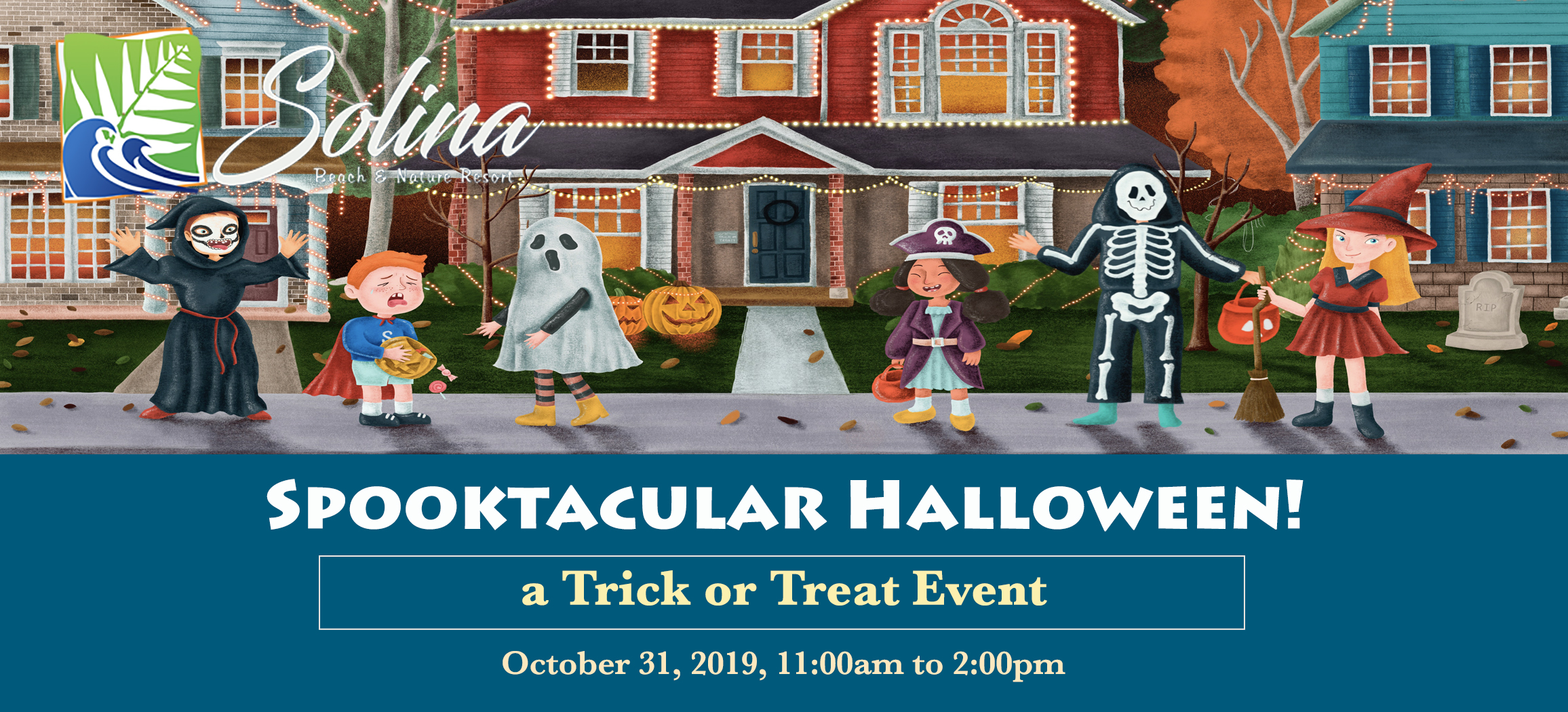 Spooktacular Halloween: A Trick or Treat Event